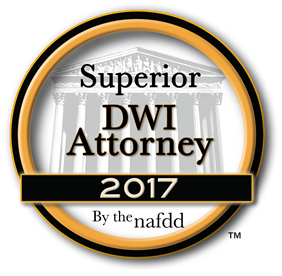 NAFDD Superior DWI Attorney 2017